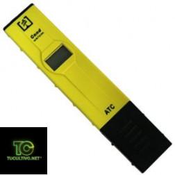 Conductímetro ATC Wassertech - Lápiz medidor de Electroconductividad