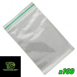 Bolsas de plástico cierre Zip máxima calidad