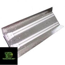 Reflector con tubos fluorescentes PL2 X 55 w