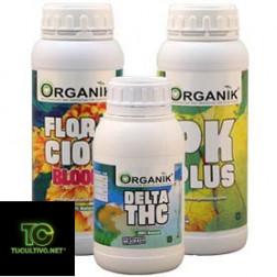 Kit de fertilizantes Organik para Floración